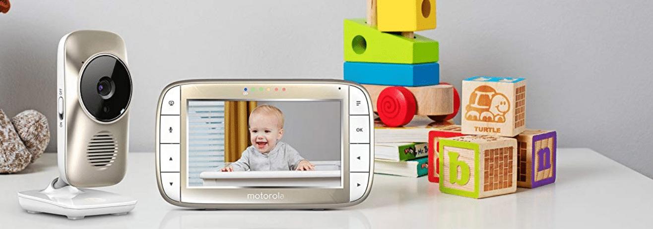 Video Baby Monitor Motorola MBP55 con pantalla de 5 pulgadas